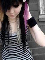 emo pink