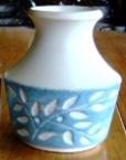 """2036 Leaf Spray Vase - 4"""""""