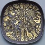 2610 artware vit nz theme plaque 1968