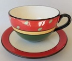catherine anselmi latte cup and saucer