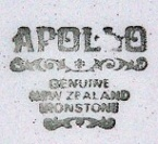 1969+ apollo genuine new zealand ironstone