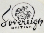sovereign british 1950's - 1960's