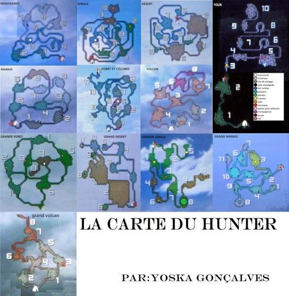 monster hunter freedom unite carte