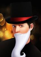 L'homme au Chapeau Noir