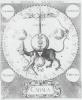 Deze plaat was te vinden op de website van  Simon Vinkenoog. Hij had daar een boek uit een Amsterdamse Bibliotheek gekopiëerd, waarvan 4 pagina's op zijn website. Zelf gaf tie daar geen commentaar over. Ik betwijfel of Simon de Paus herkende aan de Tiara van het beest. In ieder geval, de tekening is als ontwerp terug te vinden in de Openbaring van Johannes, het laatste boek uit de Bijbel, waar ook veel nadere symboliek van de Alchemie is terug te vinden. Alchemie was niet Atheïstisch, zoals de hedendaagse Chemie. The tekening is van rond 1600. Druk nogmaal op de plaat om, de originele grootte terug te krijgen.