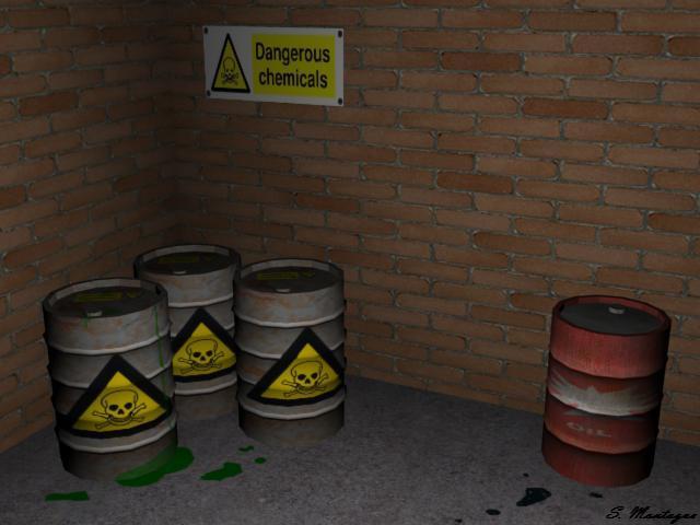 Barrels Scene