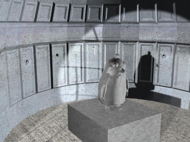 rabbuin statue