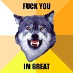 Wolf named Koga